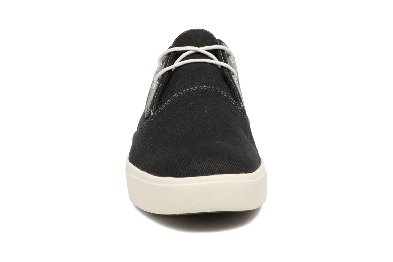Sneaker Timberland Amherst Canvas PTO schwarz schuhe getragen