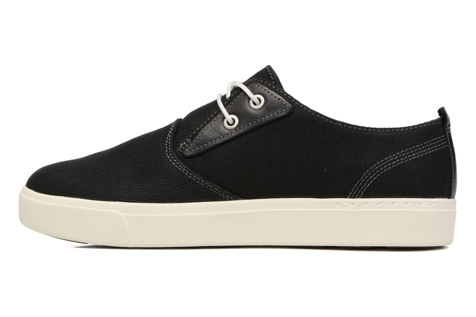 Trainers Timberland Amherst Canvas PTO Black front view