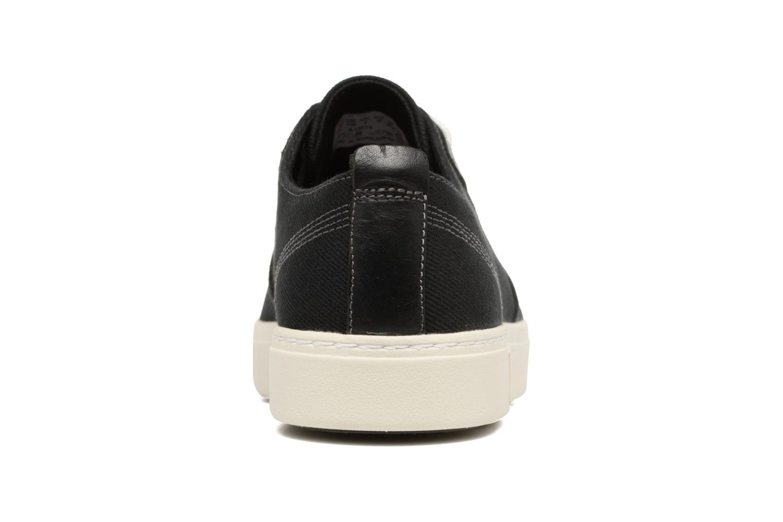 Sneaker Timberland Amherst Canvas PTO schwarz ansicht von rechts