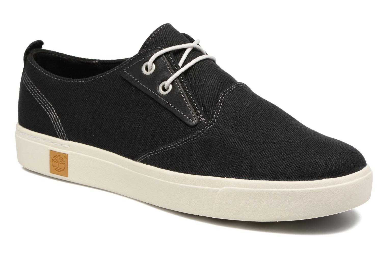 Sneakers Timberland Amherst Canvas PTO Sort detaljeret billede af skoene