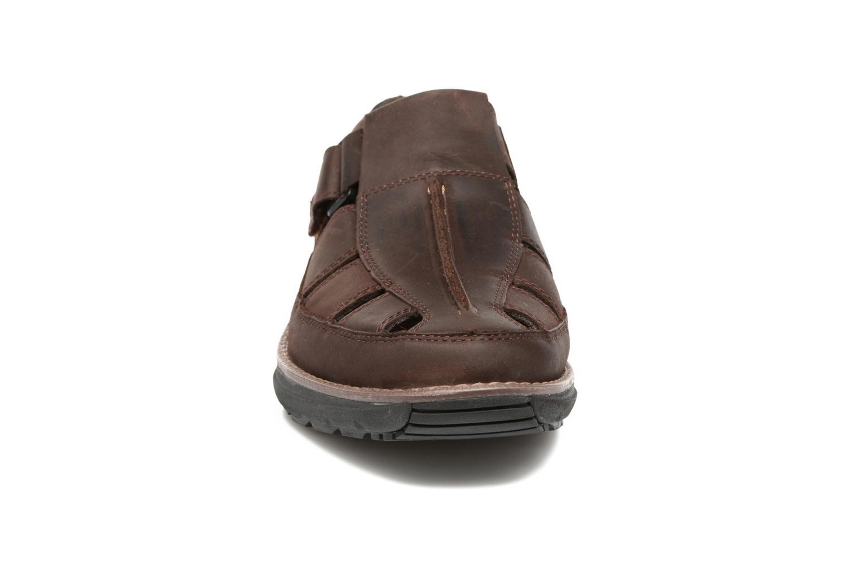 Sandales et nu-pieds Timberland Barrett Fisherman 2 Marron vue portées chaussures
