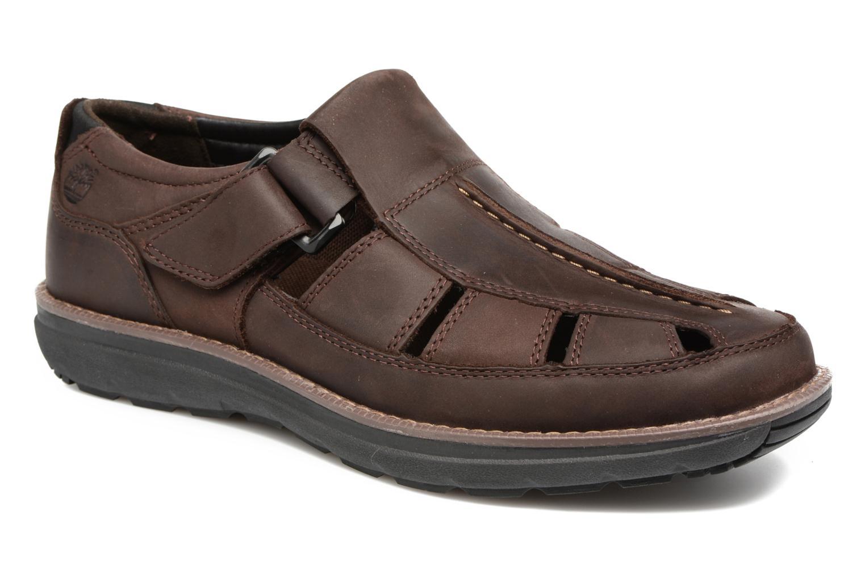 Sandales et nu-pieds Timberland Barrett Fisherman 2 Marron vue détail/paire
