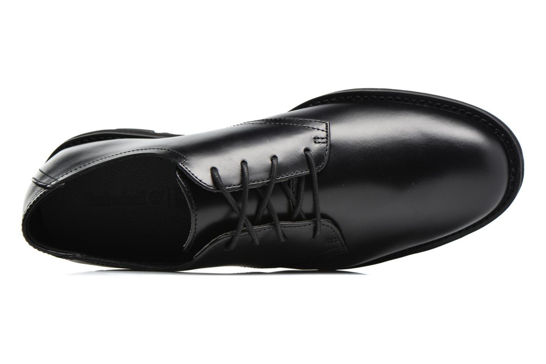 Chaussures à lacets Timberland Kempton Oxford Noir vue gauche