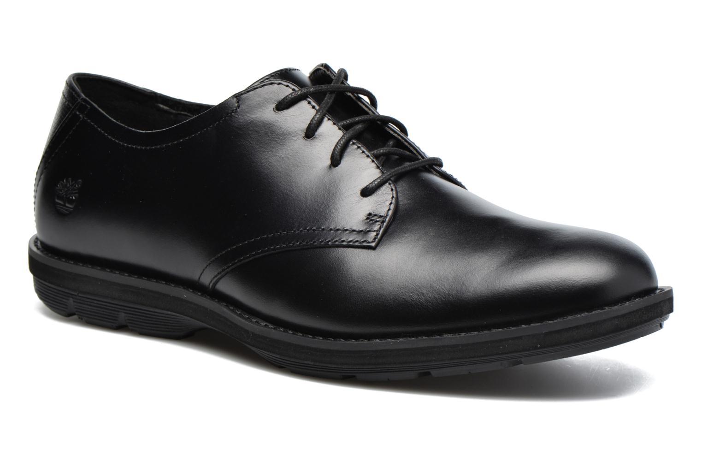 Chaussures à lacets Timberland Kempton Oxford Noir vue détail/paire