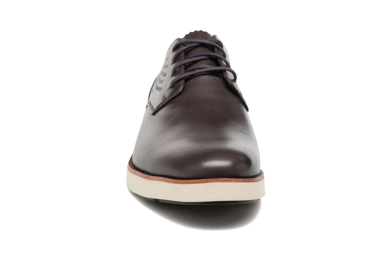 Chaussures à lacets Timberland Preston Hill Perf Bleu vue portées chaussures