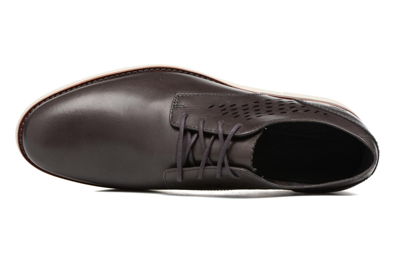 Chaussures à lacets Timberland Preston Hill Perf Bleu vue gauche