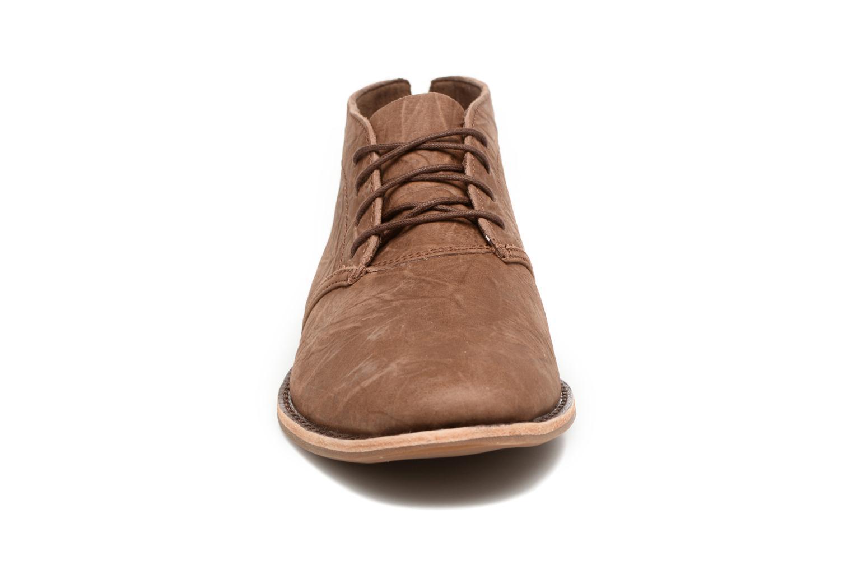 Chaussures à lacets Timberland Revenia Chukka Beige vue portées chaussures