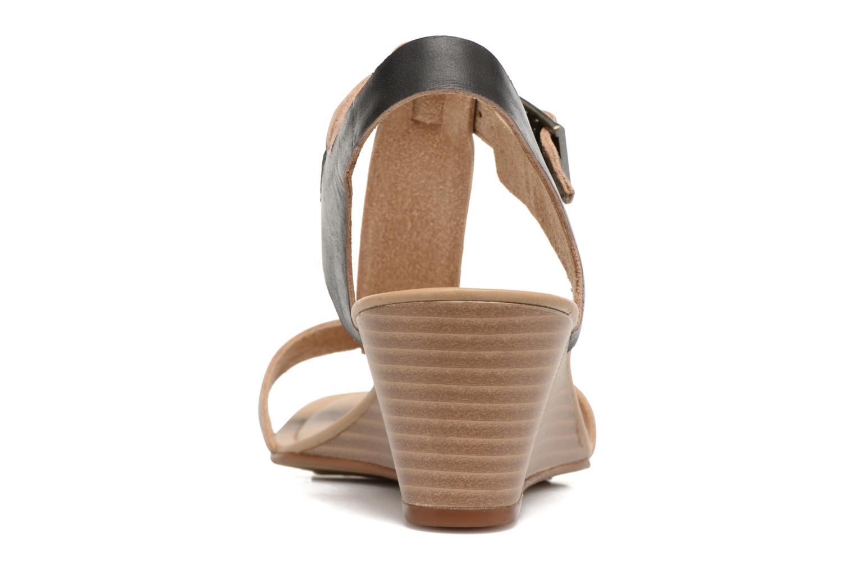 Sandales et nu-pieds Timberland Sibbern T-Strap Sandal Noir vue droite