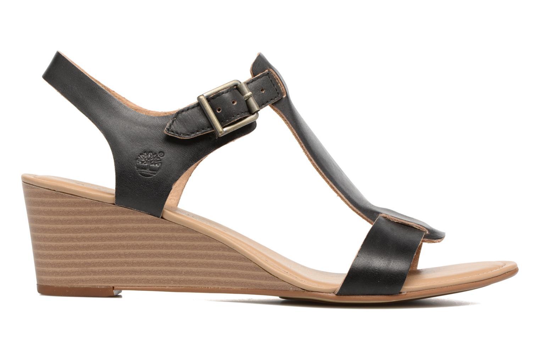 Sandales et nu-pieds Timberland Sibbern T-Strap Sandal Noir vue derrière