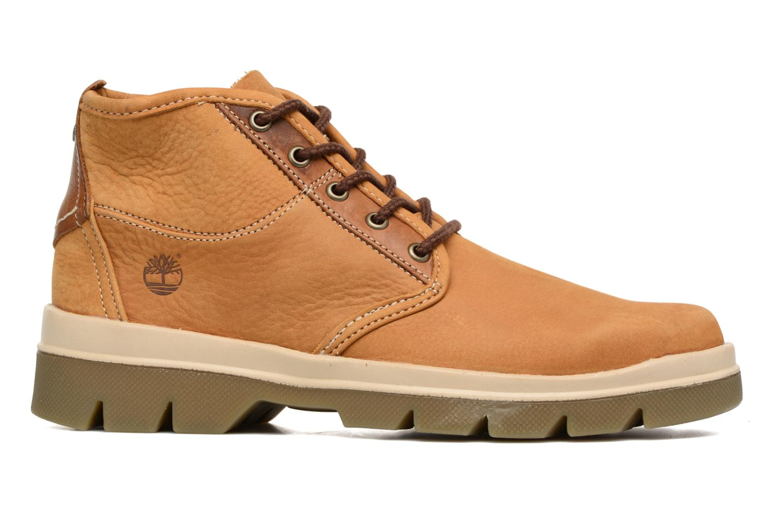 Summer boot low Wheat Barefoot Buffed Washed