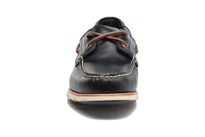 Chaussures à lacets Timberland Tidelands 2 Eye Bleu vue portées chaussures