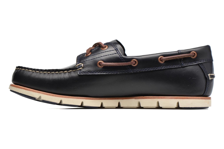 Chaussures à lacets Timberland Tidelands 2 Eye Bleu vue face