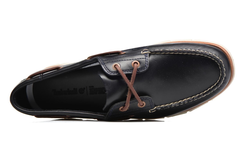 Chaussures à lacets Timberland Tidelands 2 Eye Bleu vue gauche