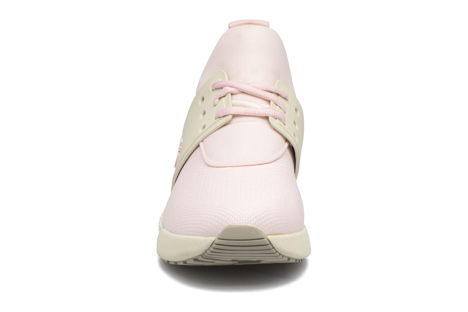 Baskets Timberland Kiri Knitted W Rose vue portées chaussures