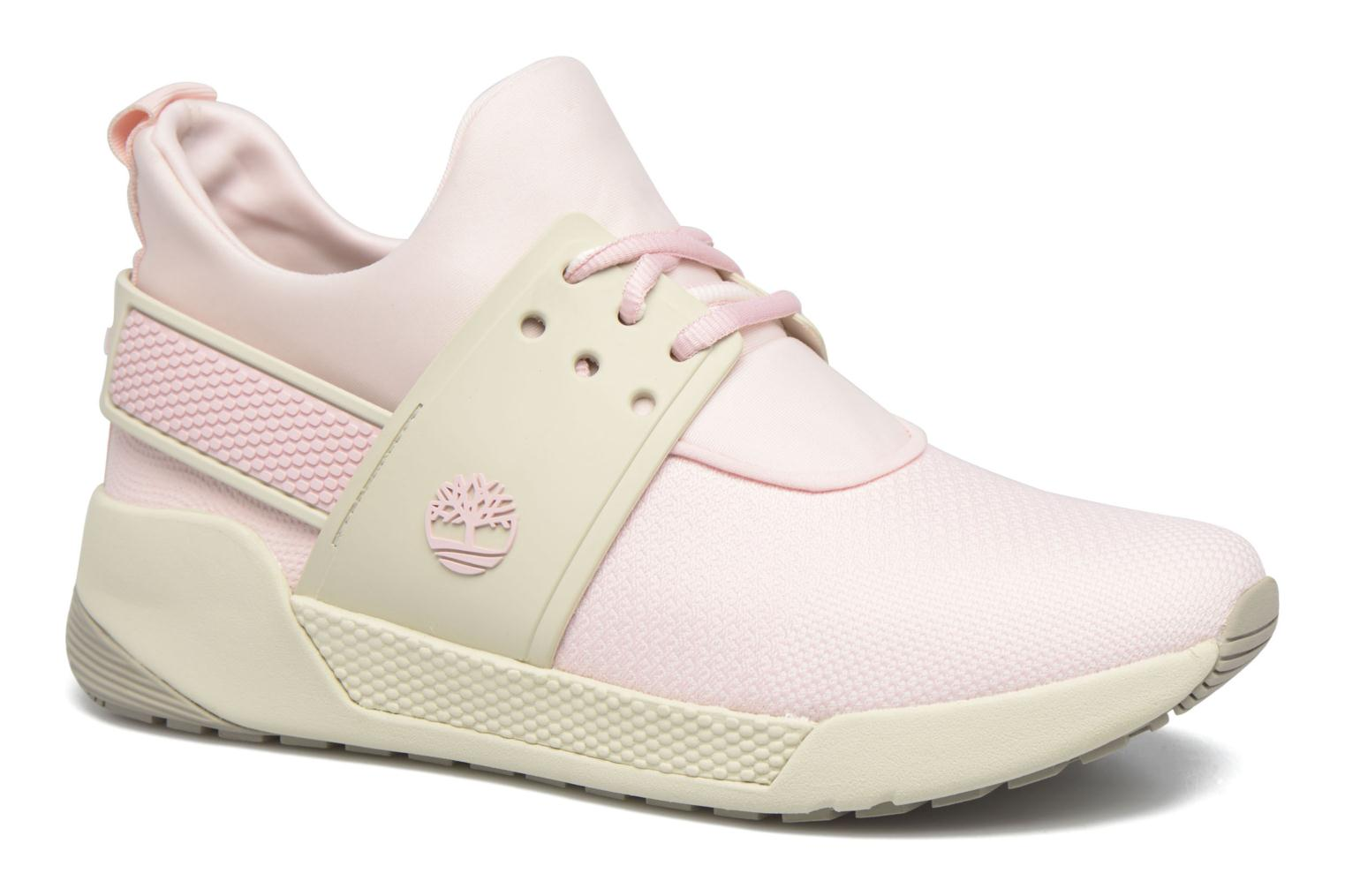 Baskets Timberland Kiri Knitted W Rose vue détail/paire