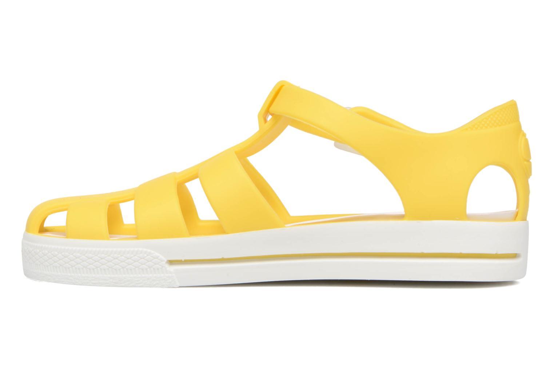 Sandals SARENZA POP Romy Yellow front view