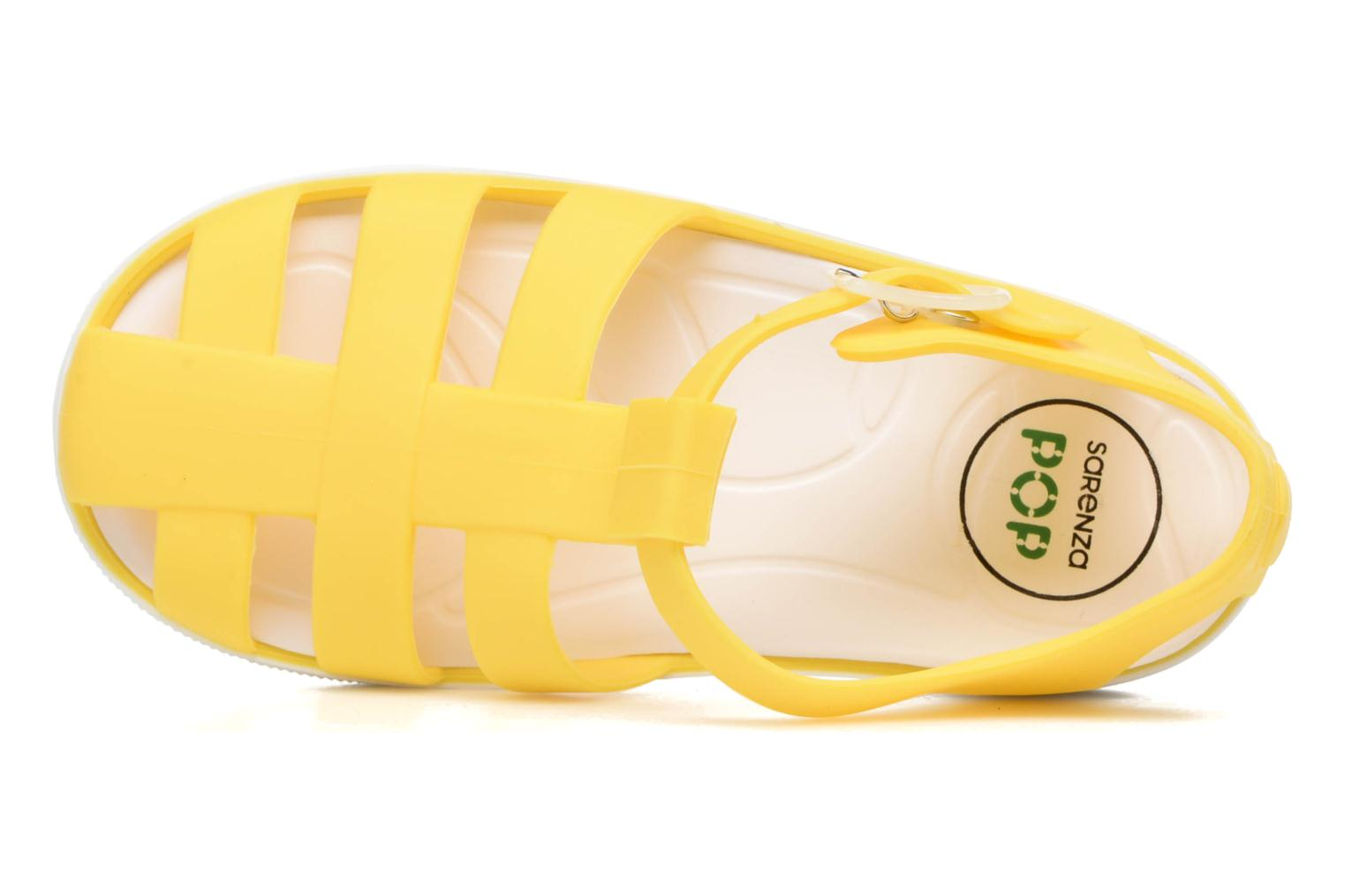 Sandals SARENZA POP Romy Yellow view from the left