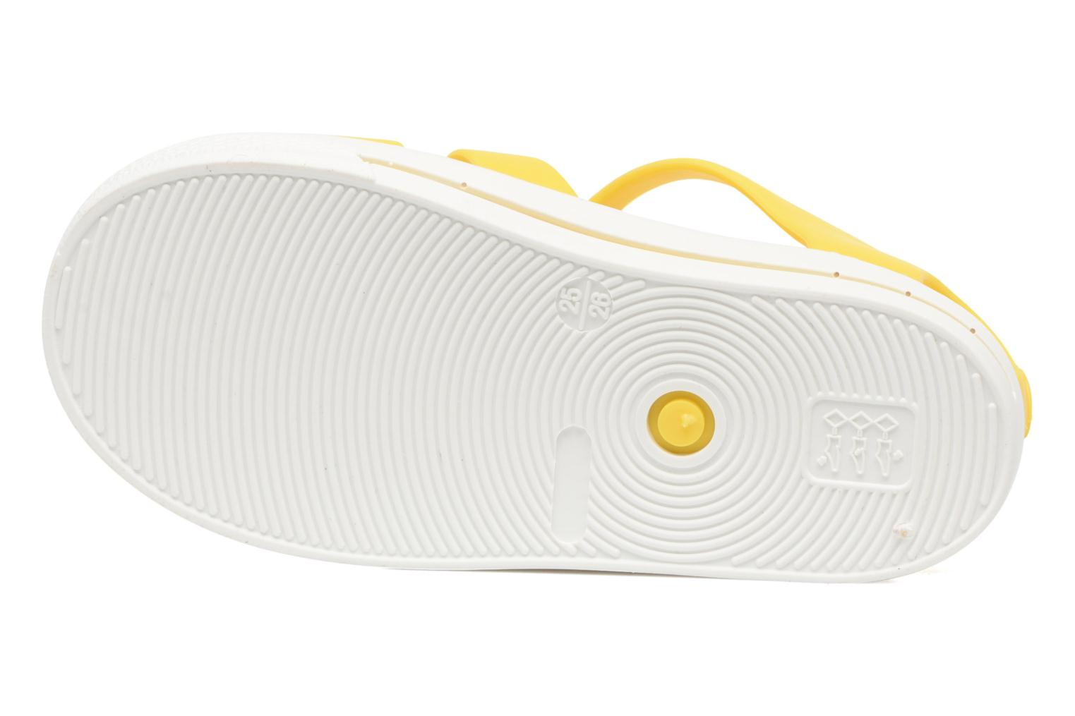 Sandals SARENZA POP Romy Yellow view from above