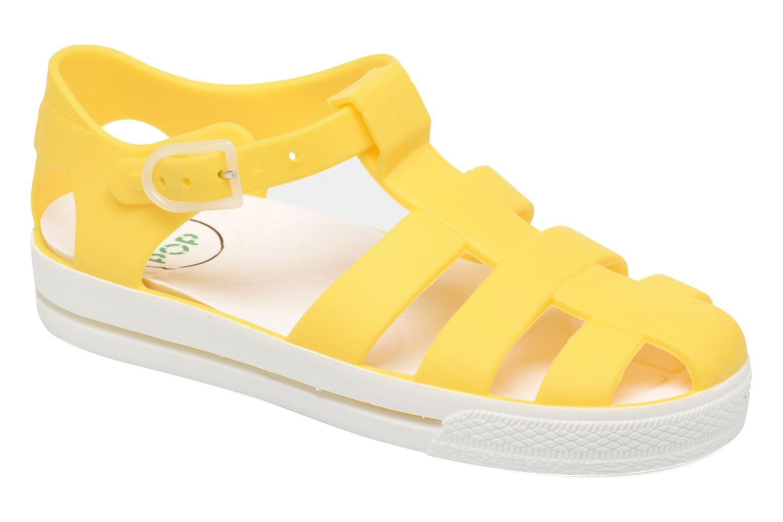 Sandals SARENZA POP Romy Yellow detailed view/ Pair view