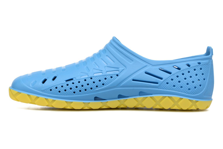 Sandales et nu-pieds SARENZA POP Raffi Bleu vue face