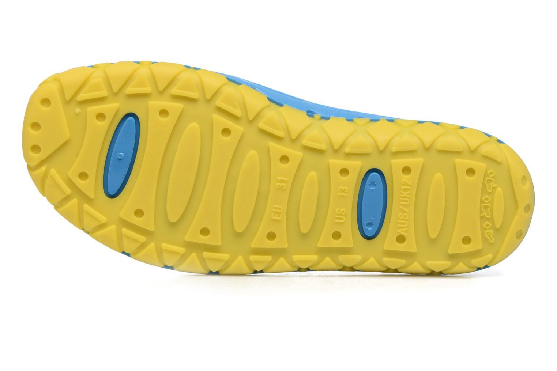 Sandales et nu-pieds SARENZA POP Raffi Bleu vue haut
