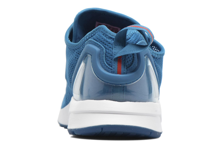Baskets Adidas Originals Zx Flux Adv Sl Bleu vue droite
