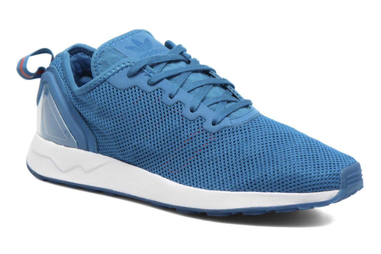 Baskets Adidas Originals Zx Flux Adv Sl Bleu vue détail/paire
