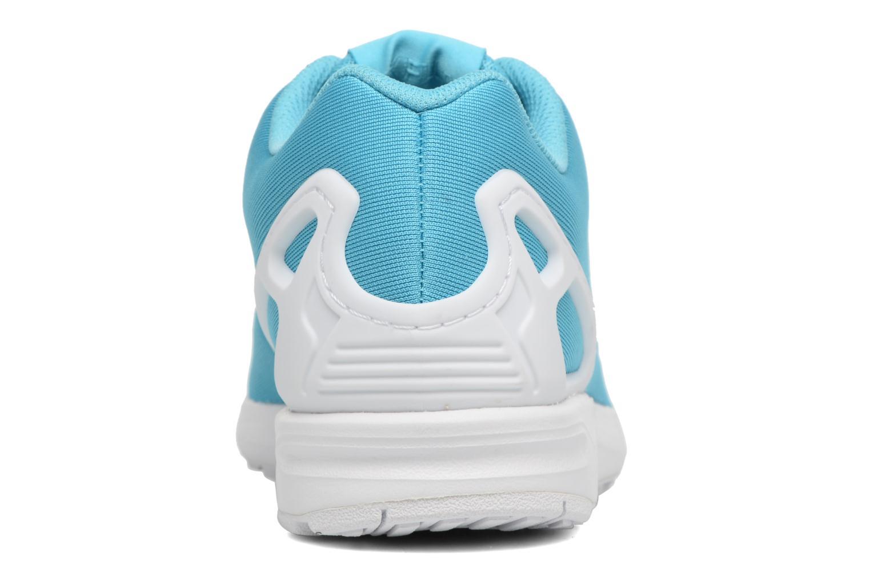 Baskets Adidas Originals Zx Flux Em Bleu vue droite