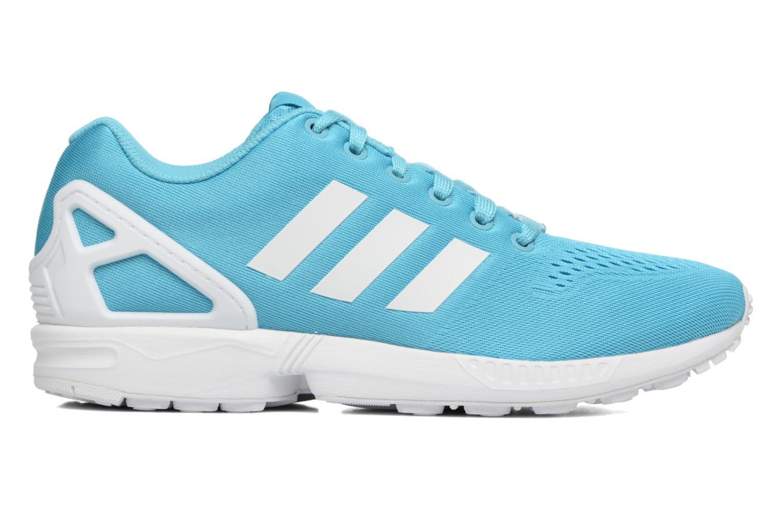 Sneakers Adidas Originals Zx Flux Em Azzurro immagine posteriore