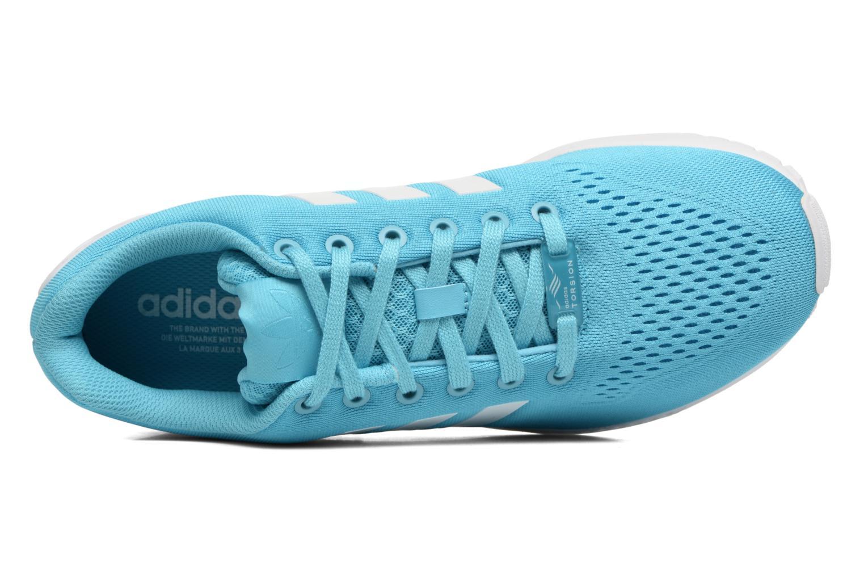 Baskets Adidas Originals Zx Flux Em Bleu vue gauche