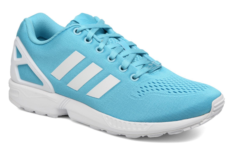 Baskets Adidas Originals Zx Flux Em Bleu vue détail/paire