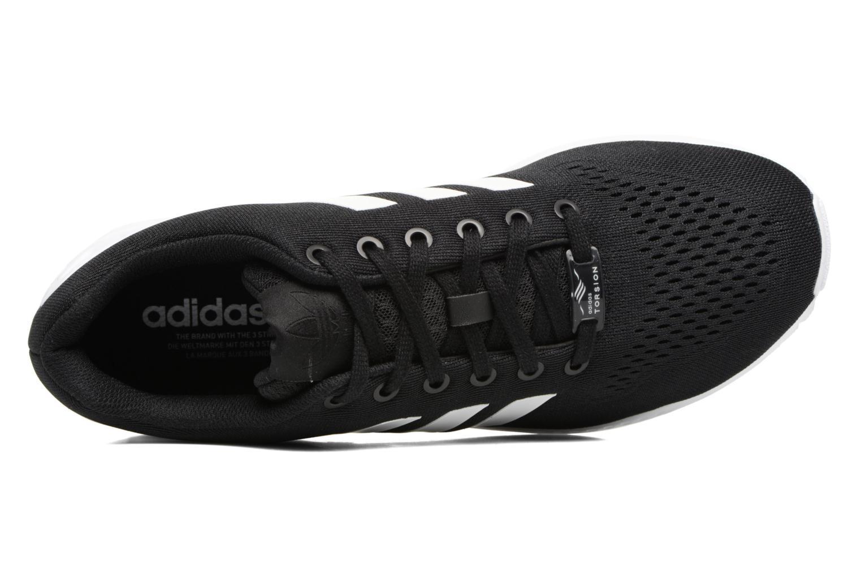 Baskets Adidas Originals Zx Flux Em Noir vue gauche