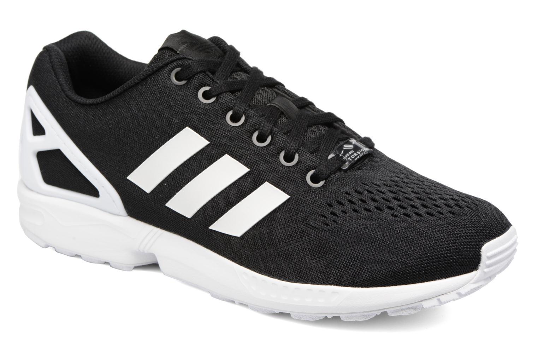 Baskets Adidas Originals Zx Flux Em Noir vue détail/paire