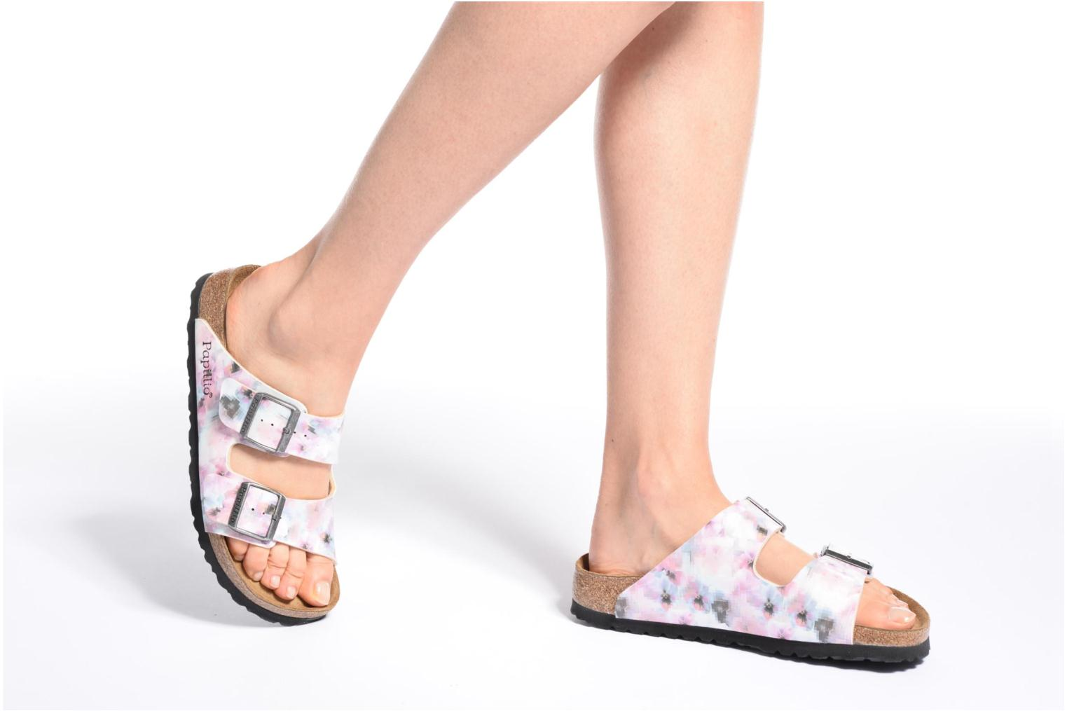 Mules & clogs Papillio ARIZONA Birko-Flor Pink view from underneath / model view