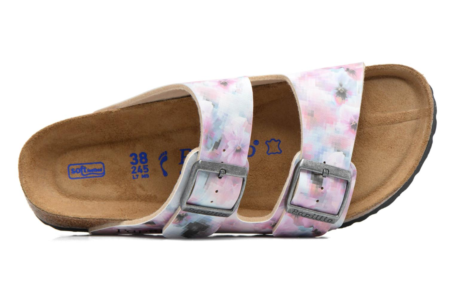 Mules & clogs Papillio ARIZONA Birko-Flor Pink view from the left
