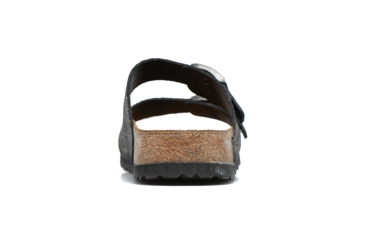 Mules & clogs Papillio ARIZONA cuir nubuck Black view from the right