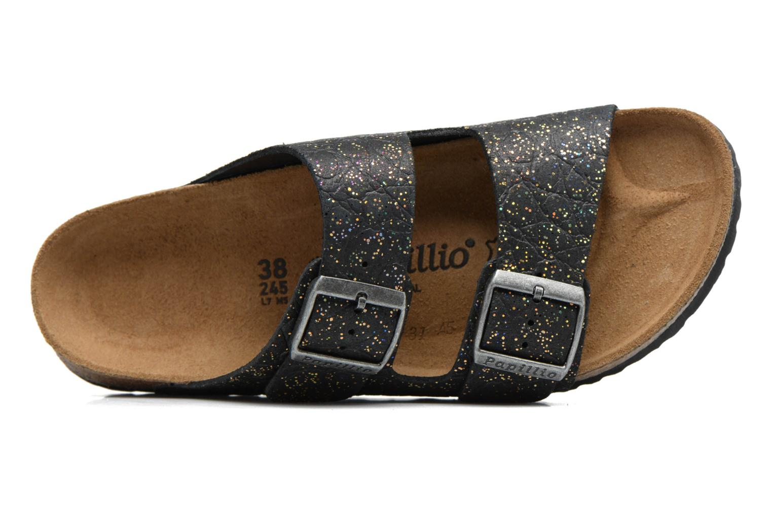 Wedges Papillio ARIZONA cuir nubuck Zwart links