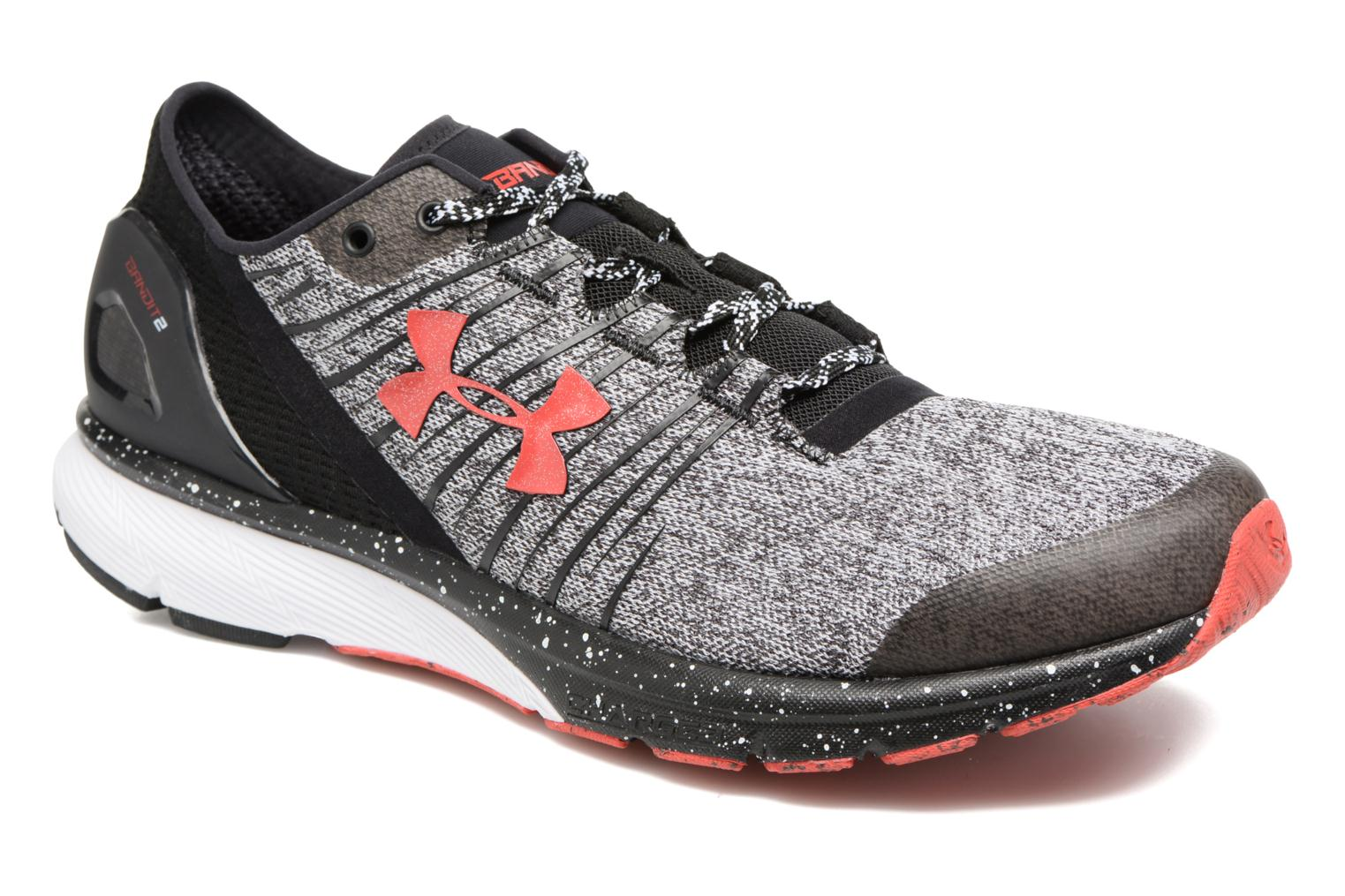 Sport shoes Under Armour Charged Bandit 2 Grey detailed view/ Pair view