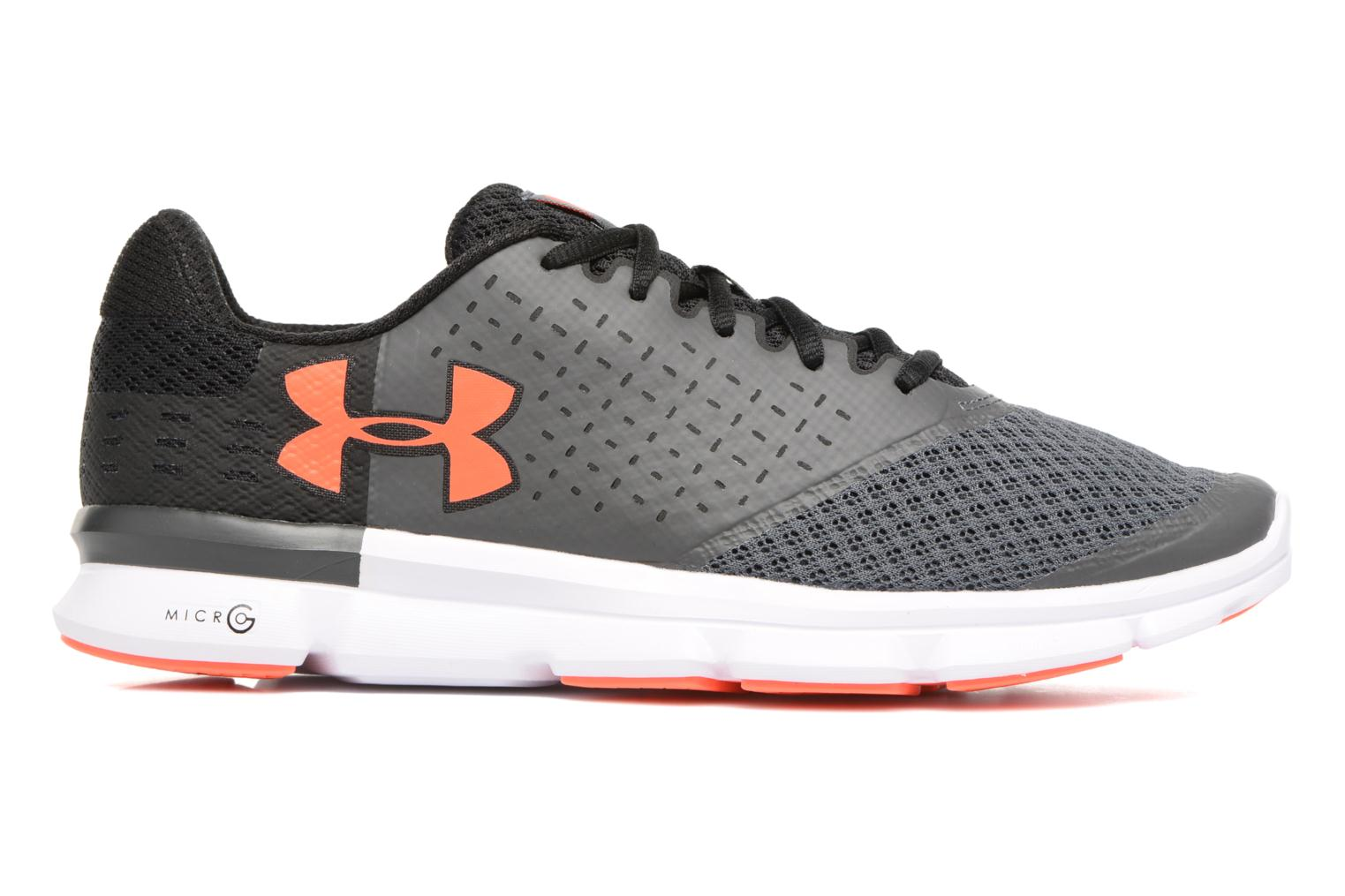 Chaussures de sport Under Armour Micro G Speed Swift 2 Gris vue derrière
