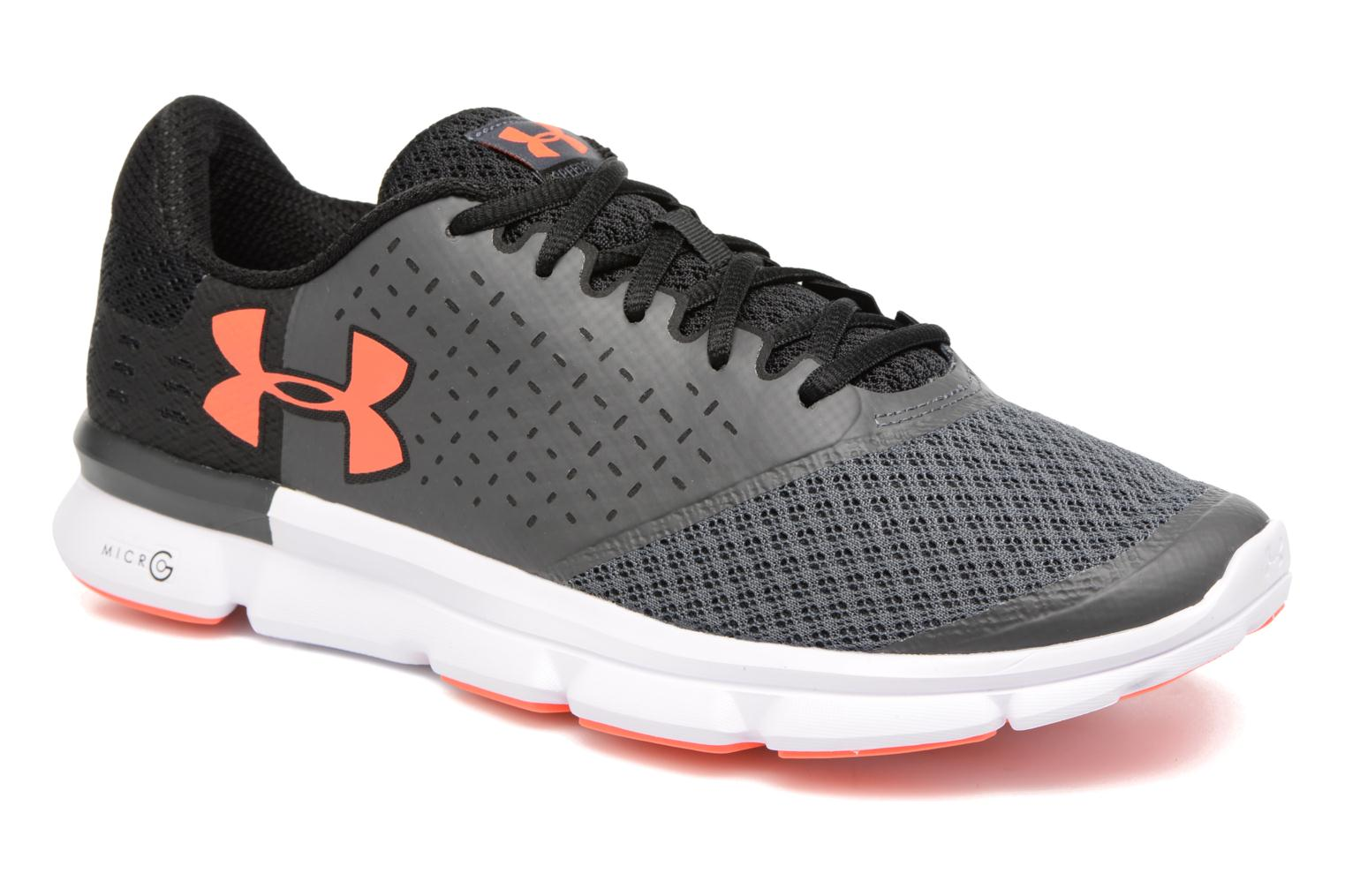 Chaussures de sport Under Armour Micro G Speed Swift 2 Gris vue détail/paire