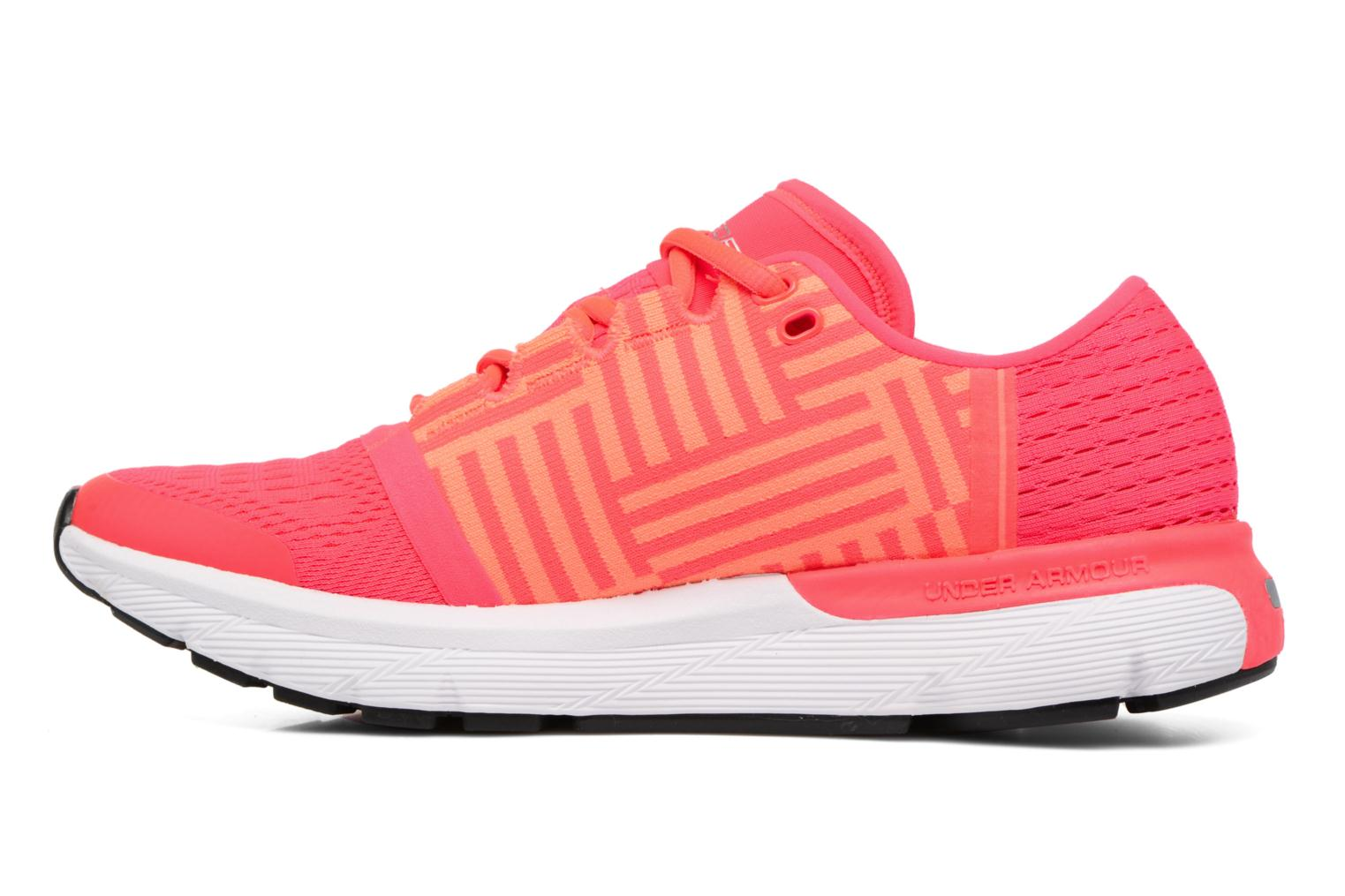 Chaussures de sport Under Armour Speedform Gemini 3 W Rose vue face