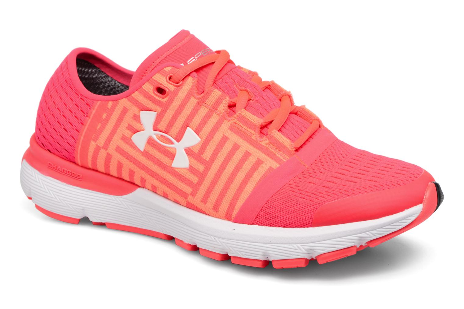 Chaussures de sport Under Armour Speedform Gemini 3 W Rose vue détail/paire