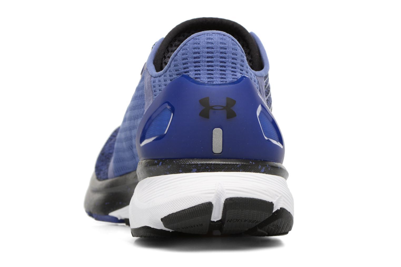 Chaussures de sport Under Armour Charged Bandit 2 W Bleu vue droite