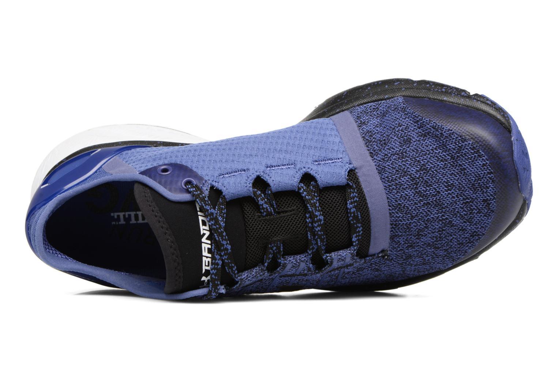 Chaussures de sport Under Armour Charged Bandit 2 W Bleu vue gauche