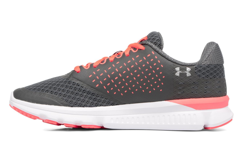 Chaussures de sport Under Armour Micro G Speed Swift 2 W Gris vue face