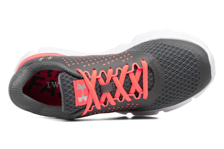 Chaussures de sport Under Armour Micro G Speed Swift 2 W Gris vue gauche