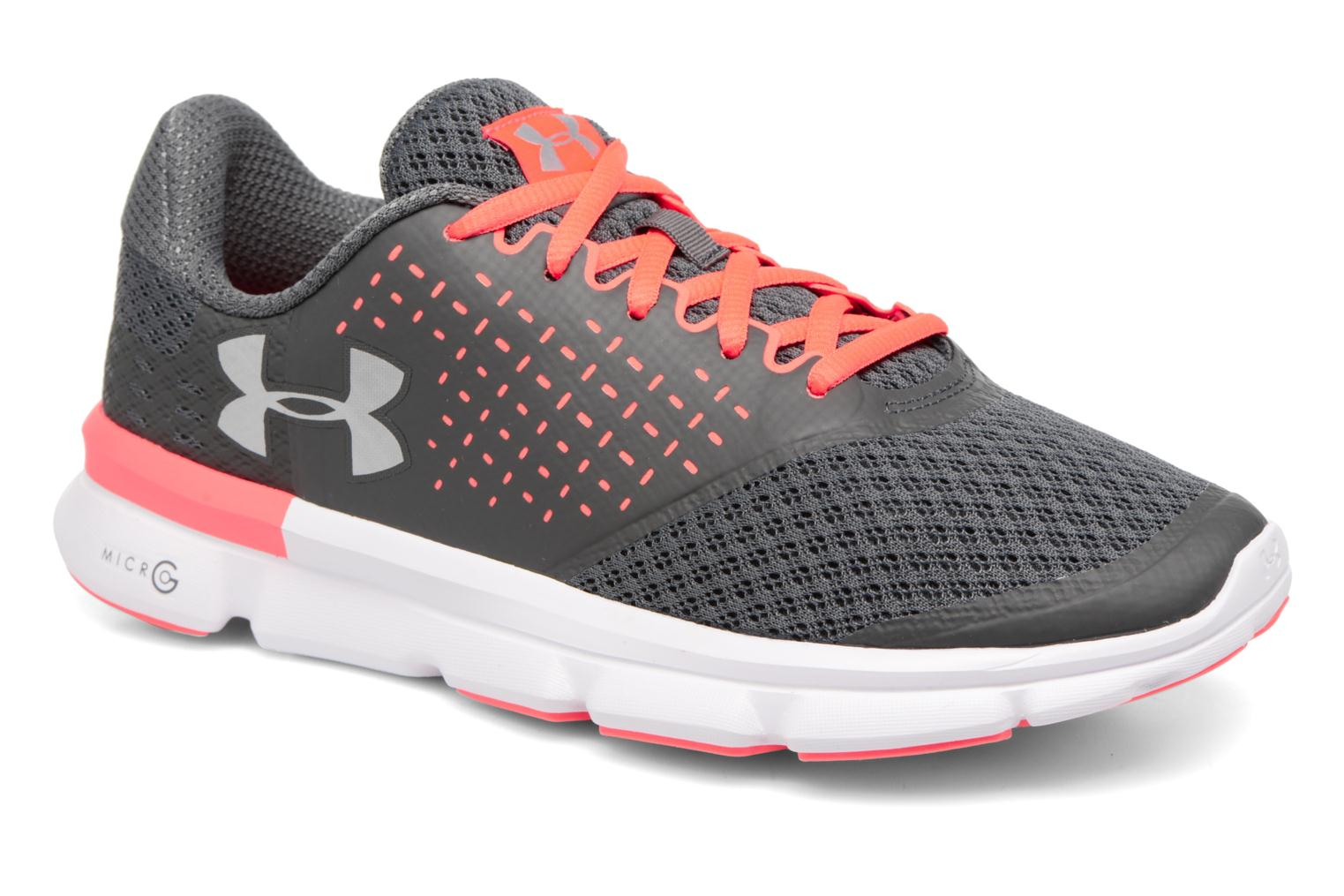 Zapatillas de deporte Under Armour Micro G Speed Swift 2 W Gris vista de detalle / par