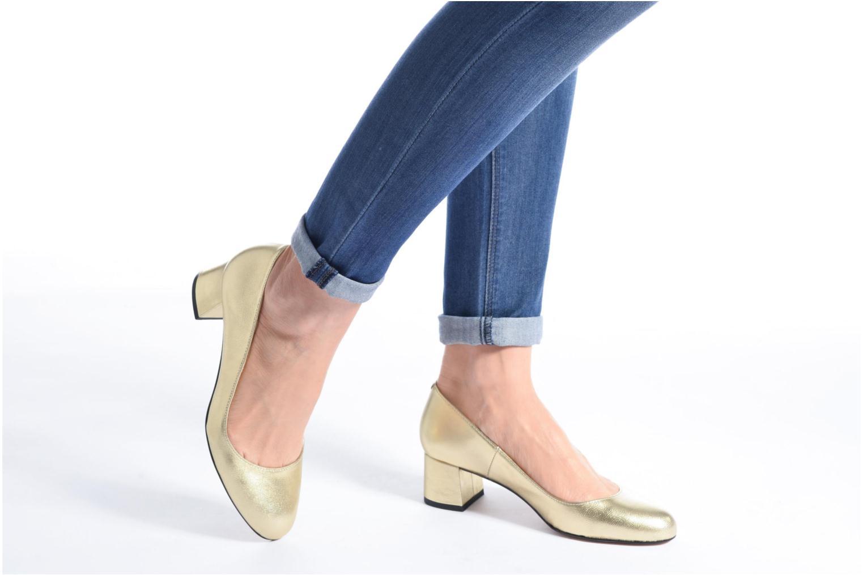 Zapatos de tacón Georgia Rose Slico Azul vista de abajo
