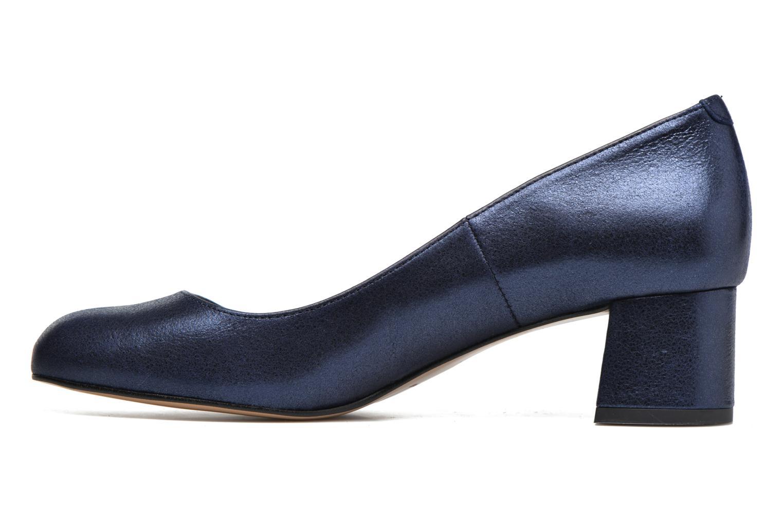Zapatos de tacón Georgia Rose Slico Azul vista de frente