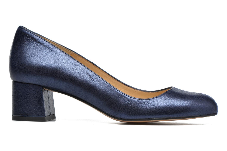 Zapatos de tacón Georgia Rose Slico Azul vistra trasera